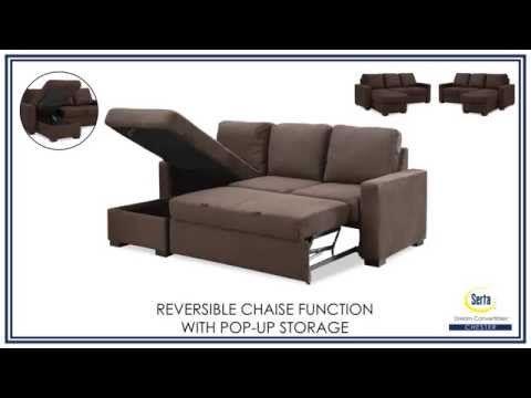 Oxford Pop Up Platform Sleeper Sofa Renov