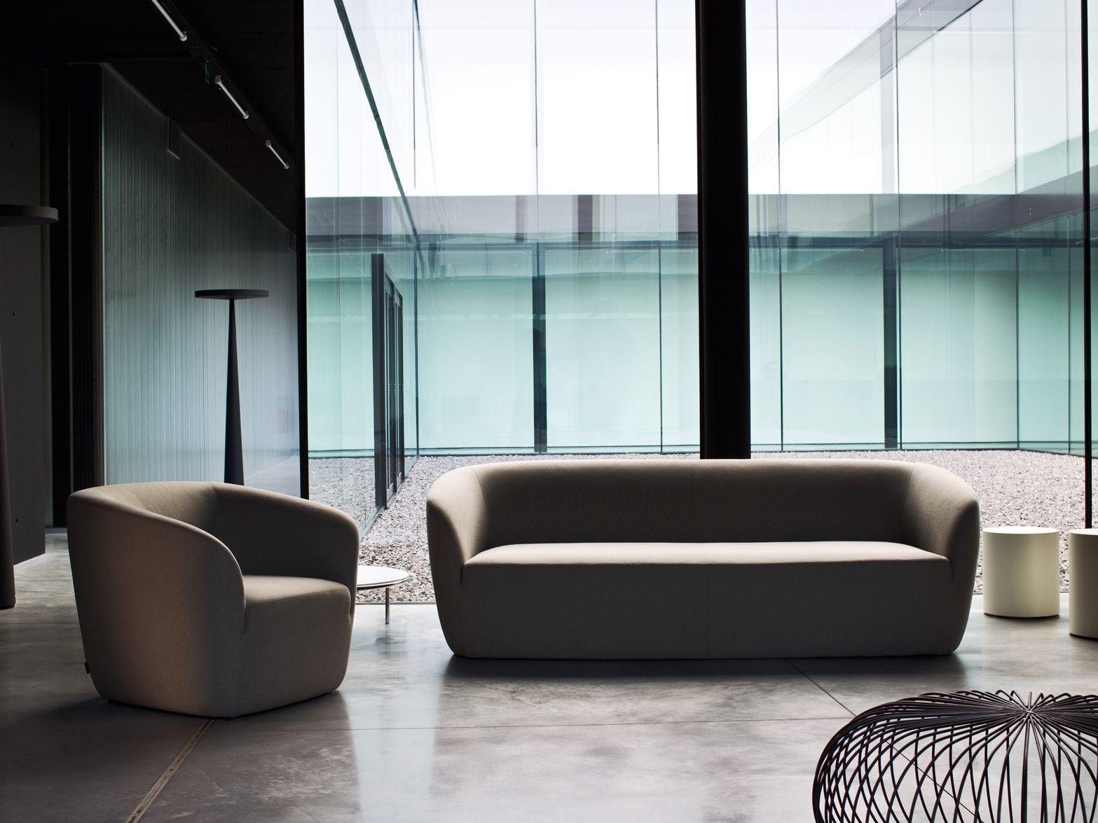 DEP 3 seater sofa Dep Collection by La Cividina design Luca Botto