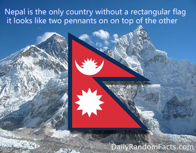 15 Fun Facts Flag Coloring Pages Nepal Flag Fun Facts