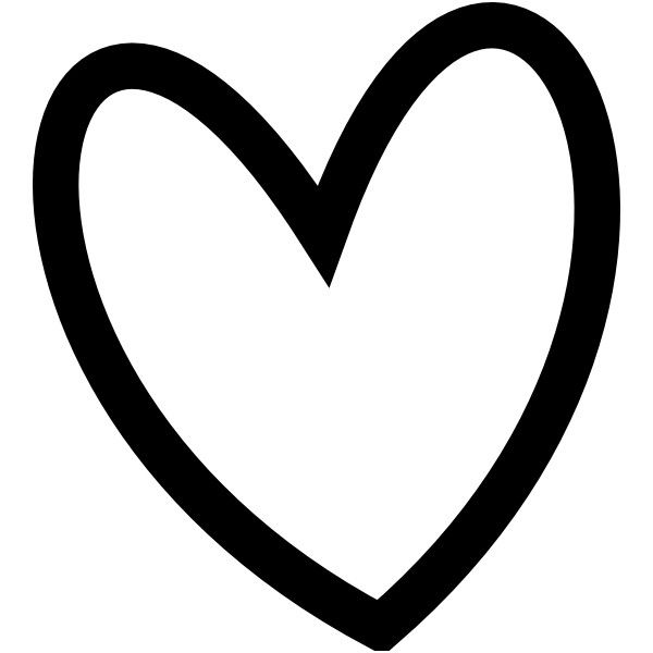 Pin Heart Clipart Black And White Free Clip Art Border ...