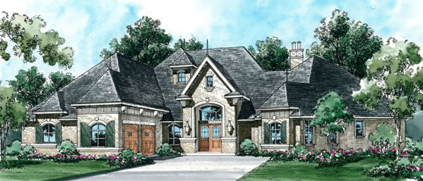 Marvelous This 1 Story European Features 3988 Sq Feet. Call Us At 866 214  · French  Country House PlansCountry ...