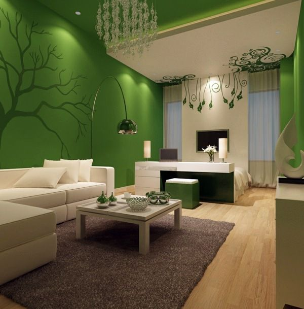 Bon Color Ideas For WallsAttractive Wall Colors In Each Room. Minimalist Living  ...