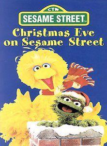 Sesame Street Christmas Eve On Sesame Street Dvd Great Shape Sesame Street Christmas Sesame Street Dvd Sesame Street