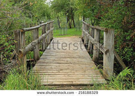 Rustic Wooden Bridge Google Search Decks And Porches