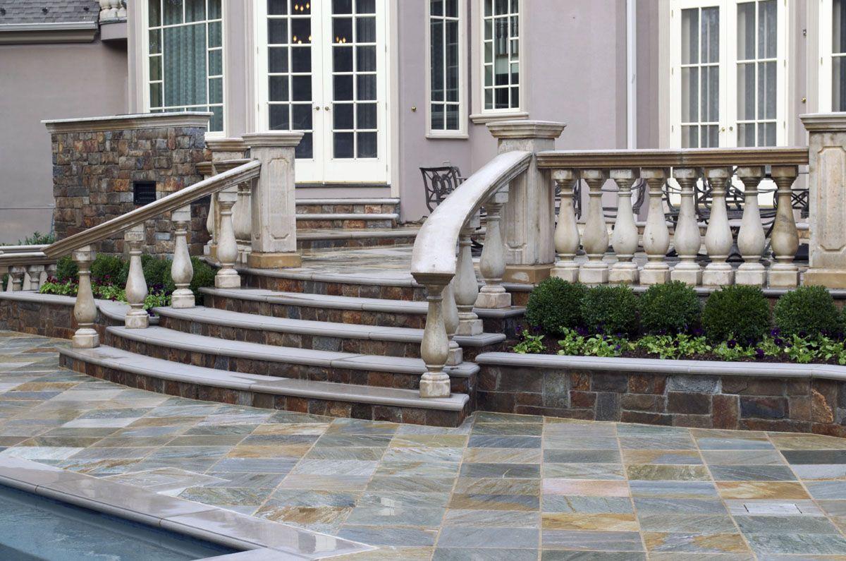 Best Limestone And Quartzite Step Ideas Upper Saddle River Nj 400 x 300