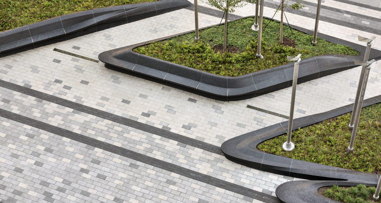 Plaza At Boston S Prudential Center Mikyoung Kim Design Landscape Architecture Urban Landscape Architecture Landscape Architecture Design Landscape Design