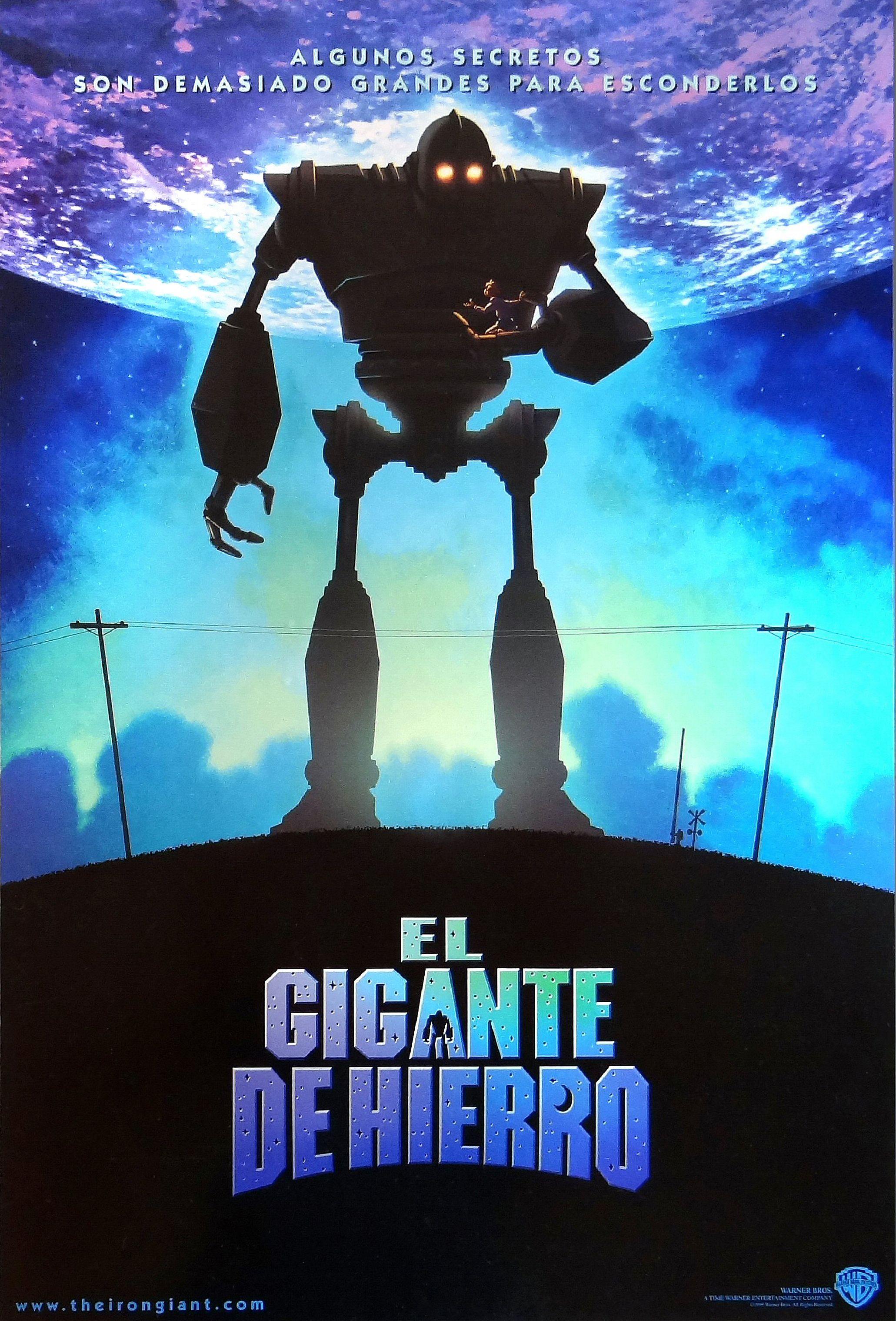 The Iron Giant Spanish-US Theatrical Movie Poster | THE IRON GIANT ...