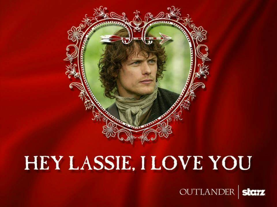 Jamie Valentine  E2 9d A4 Fraser Clan Jamie Fraser Outlander Tv Series Diana Gabaldon