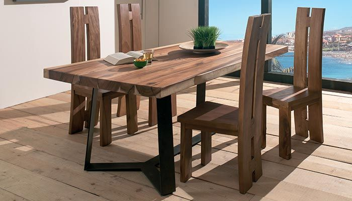 table en bois de suar collection kupu