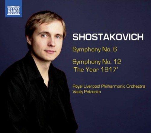 """Shostakovich: Symphony No. 6 / Symphony No. 12 """"The Year 1917"""" - Naxos CD. £4.99"""
