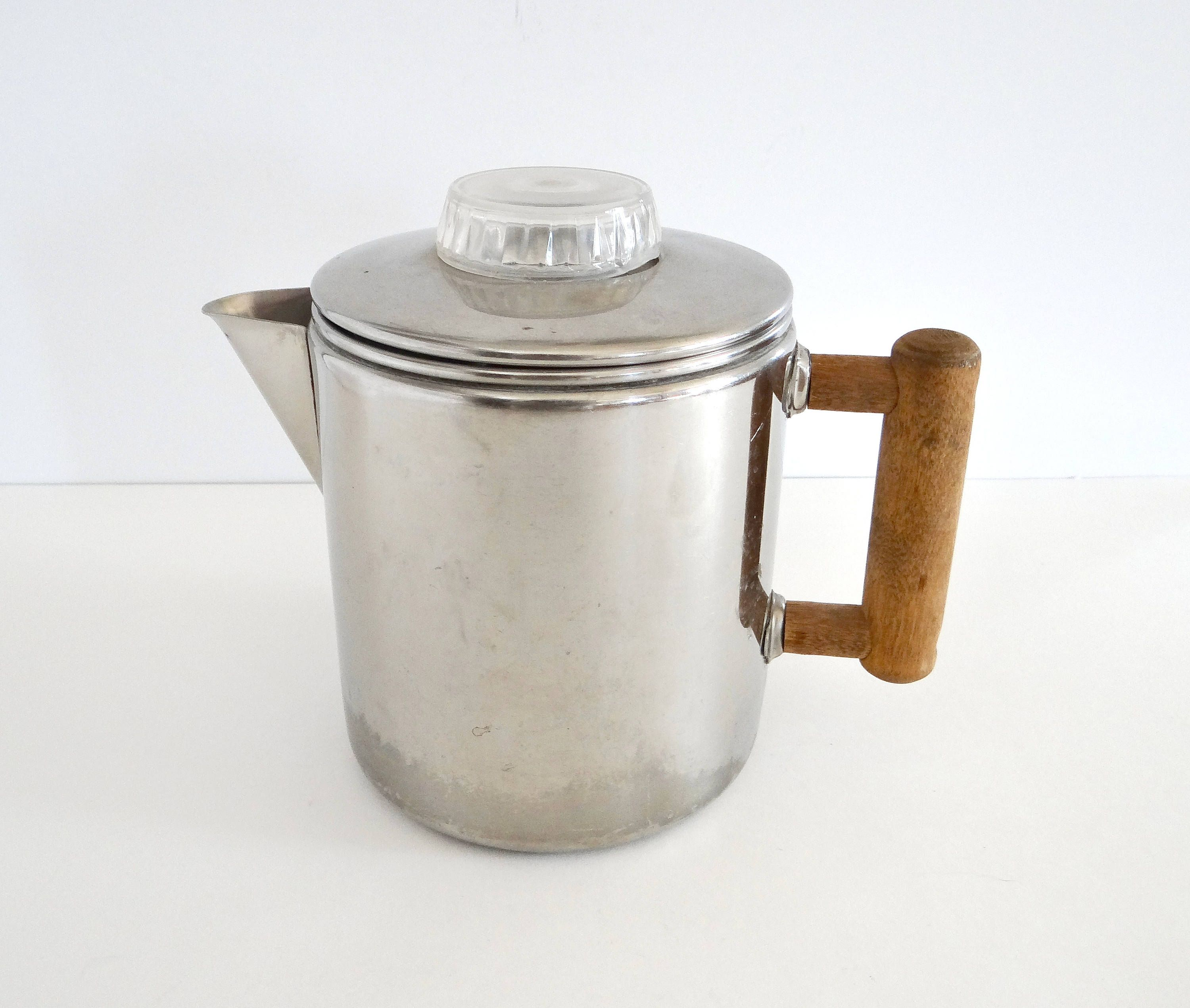 Vollrath Stainless Steel Stovetop Percolator Coffee Pot by