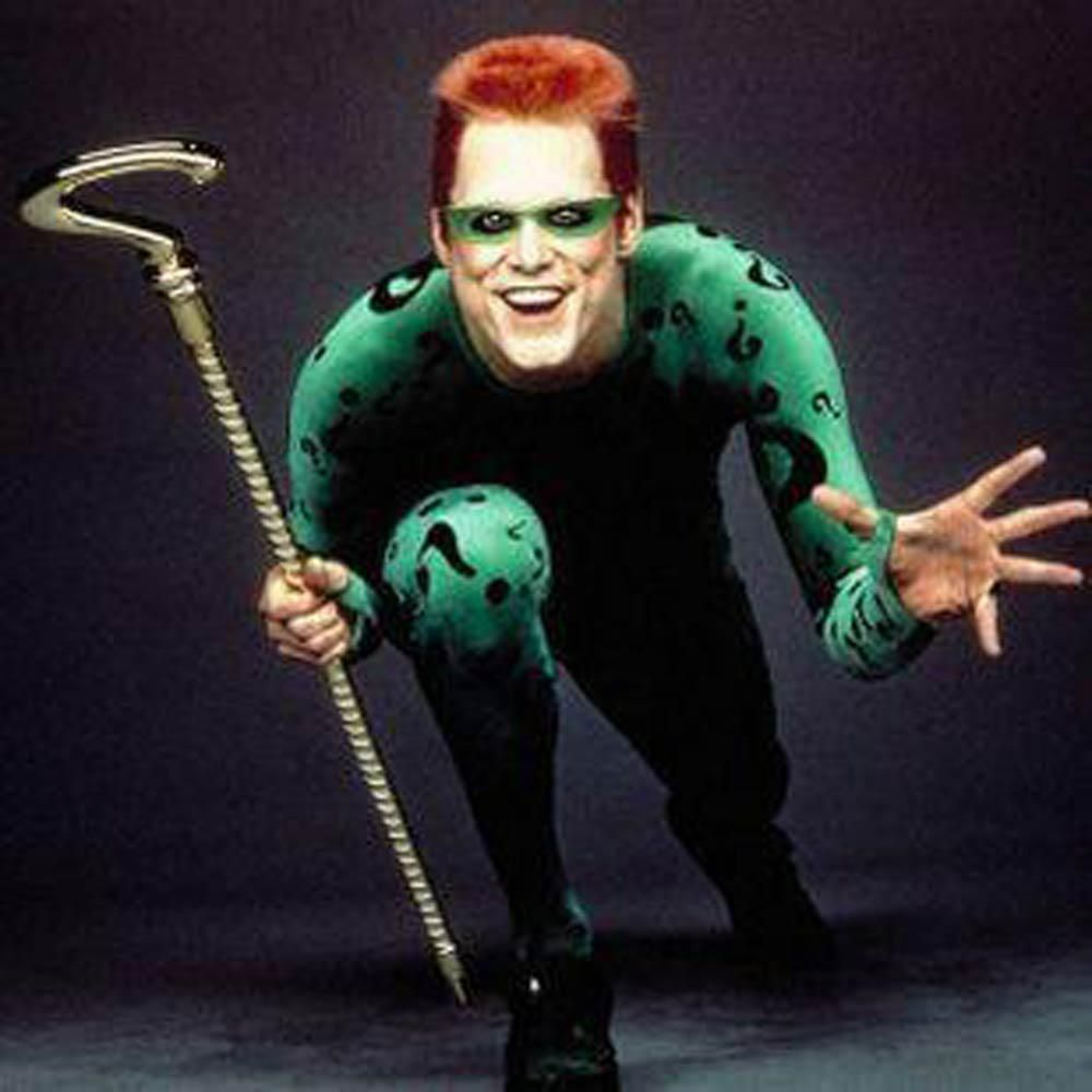 riddler Google Search Jim carrey, Riddler, Batman movie