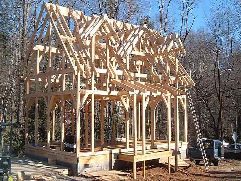 chinese timber frame architecture | Great Timber Frame House Plans ...