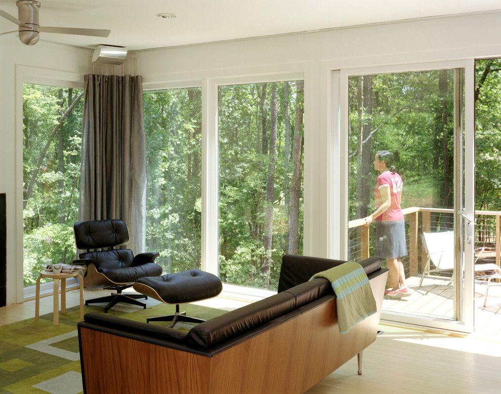 Eames Lounge Chair Replica Living Room