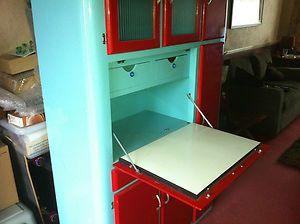 1950s Neatette Kitchen Cabinet Unit Cupboard Retro 50s Vintage Shabby Chic Ebay