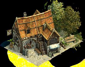 Medieval Tavern Minecraft Inspiration Medieval Houses Building