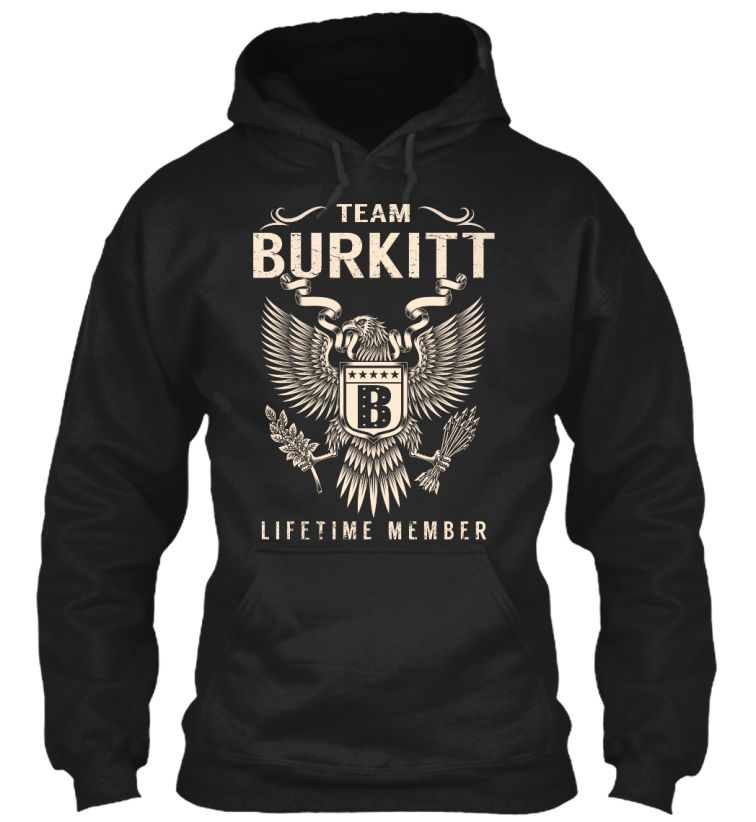 Team BURKITT Lifetime Member #Burkitt