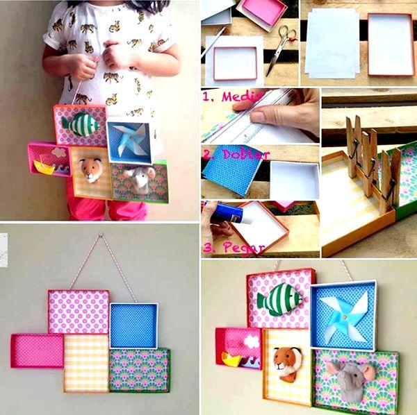 Cuadros decorativos para habitaci n infantil vis tanos en for Ideas para pintar cuadros