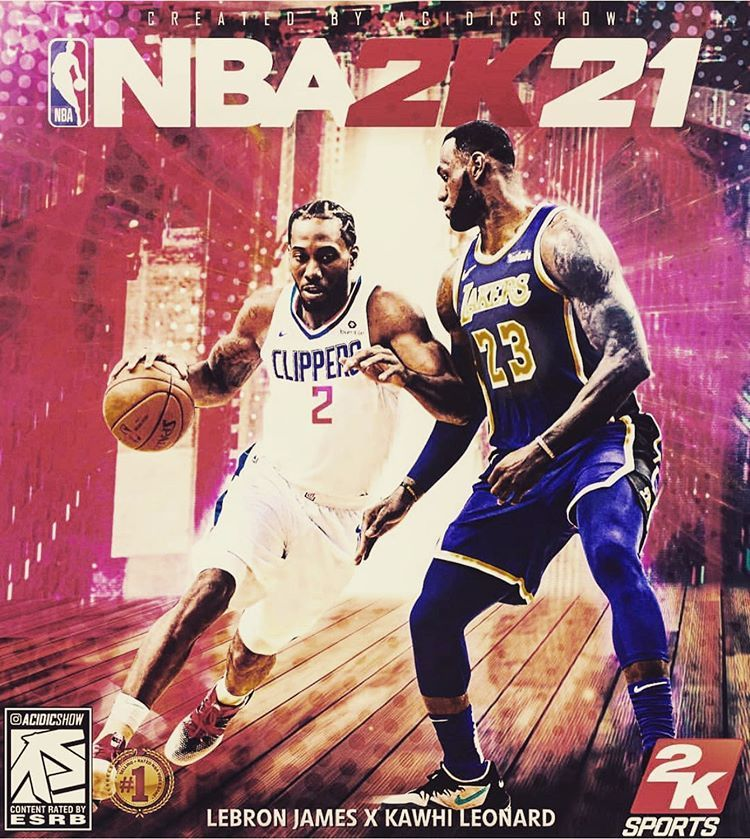 Will This Be The Nba 2k21 Cover Nba Video Games Lakers Vs Nba