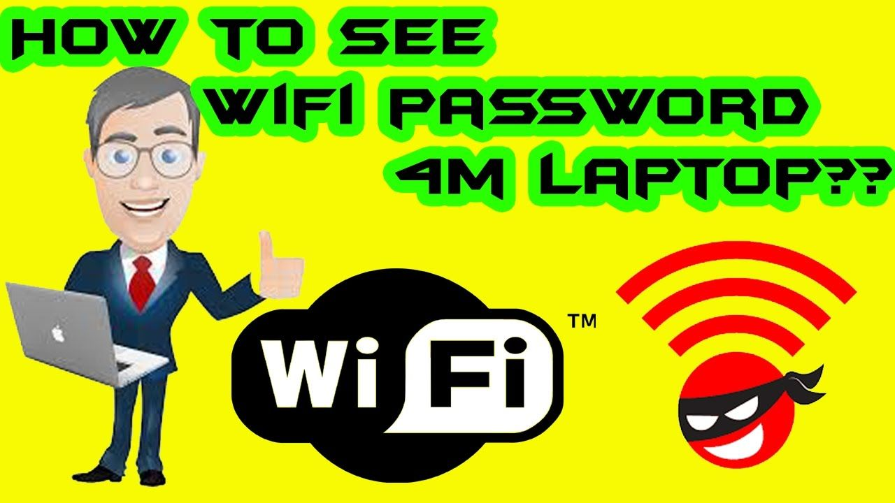 How to see wifi password on computer laptop Wifi