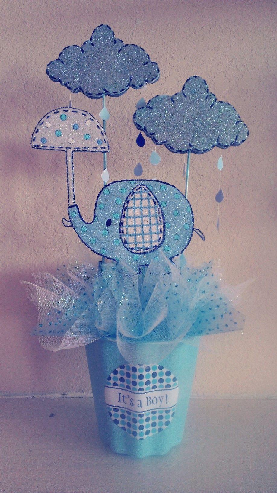 Elephant Umbrellaphant Baby Shower Centerpiece Girl Baby Shower Centerpieces Elephant Baby Shower Centerpieces Elephant Baby Shower Theme