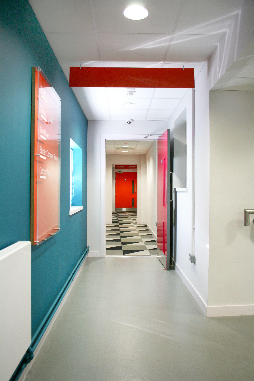 Hallway Colourful Pattern Floor Carpet Tile Burmatex