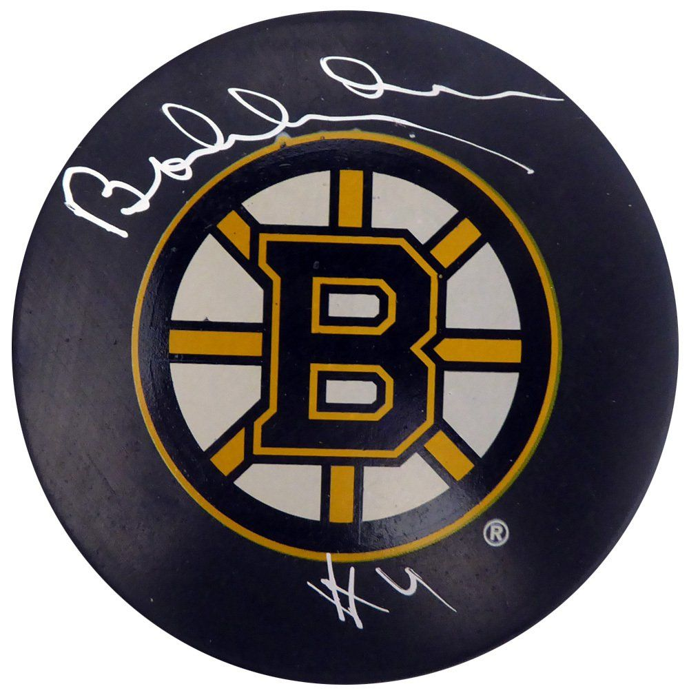 Bobby Orr Autographed Signed Boston Bruins Hockey Puck Beckett Bobby Orr Bruins Hockey Boston Bruins Hockey