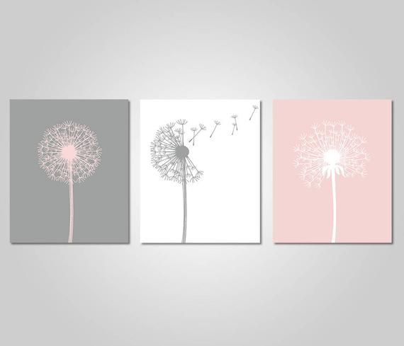 Dandelion Wall Art - Home Wall Art - Bedroom Dande