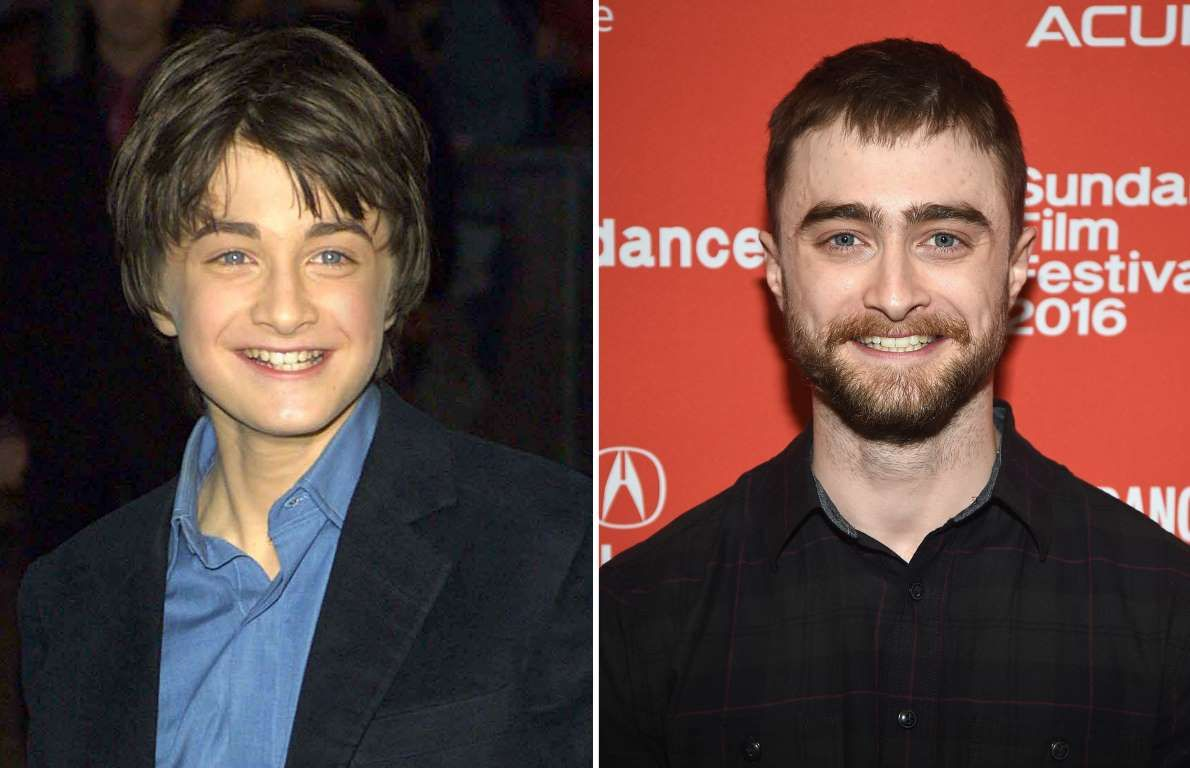 Daniel Radcliffe 2001 And 2016 Uk Press Getty Images George Pimentel Getty Actors Daniel Radcliffe Actors Actresses