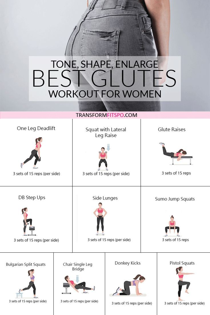 How to Get a Bigger Bum – Workout to Tone, Round and Enlarge Your Glutes -  - #bigger #Bum #Enlarge...