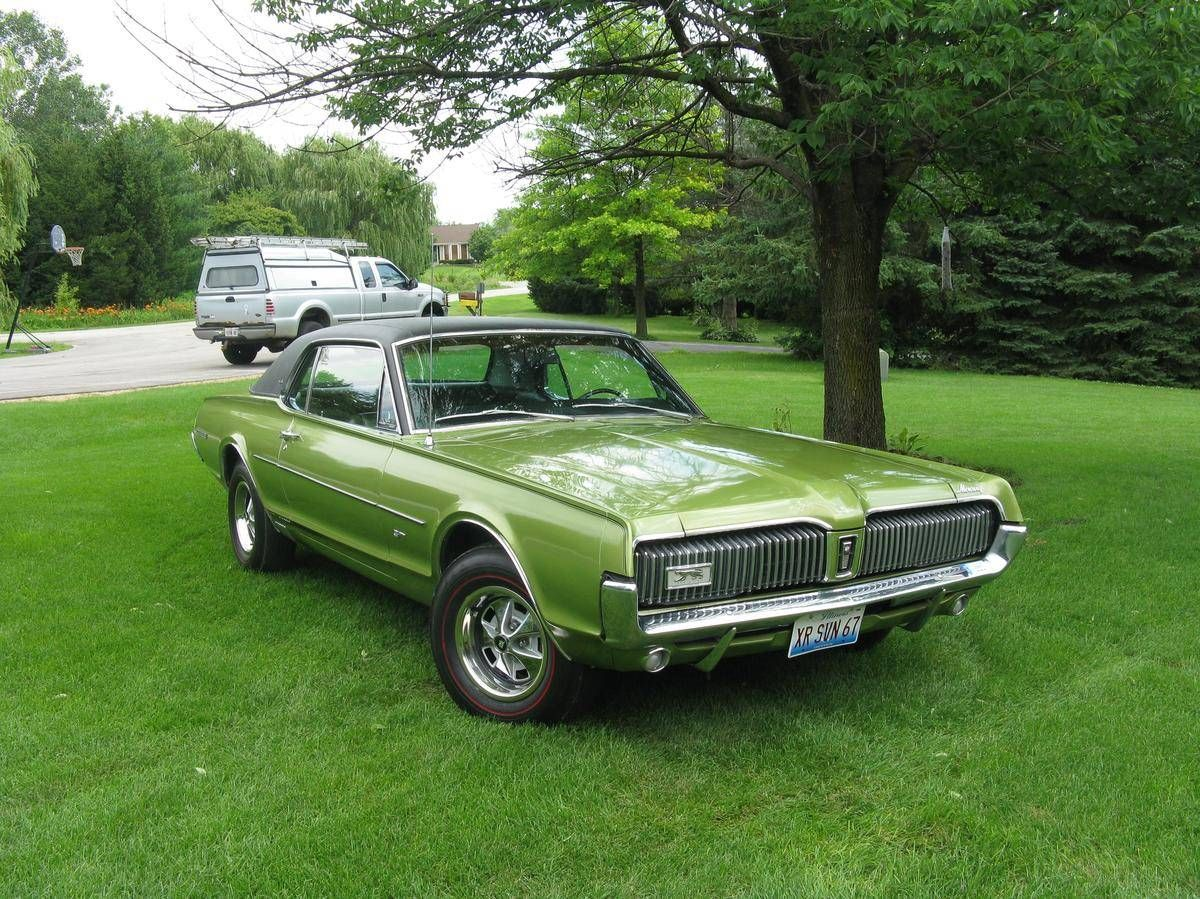 Worksheet. 1968 Mercury Cougar GTE 7liter coupe  Rarest muscle cars from