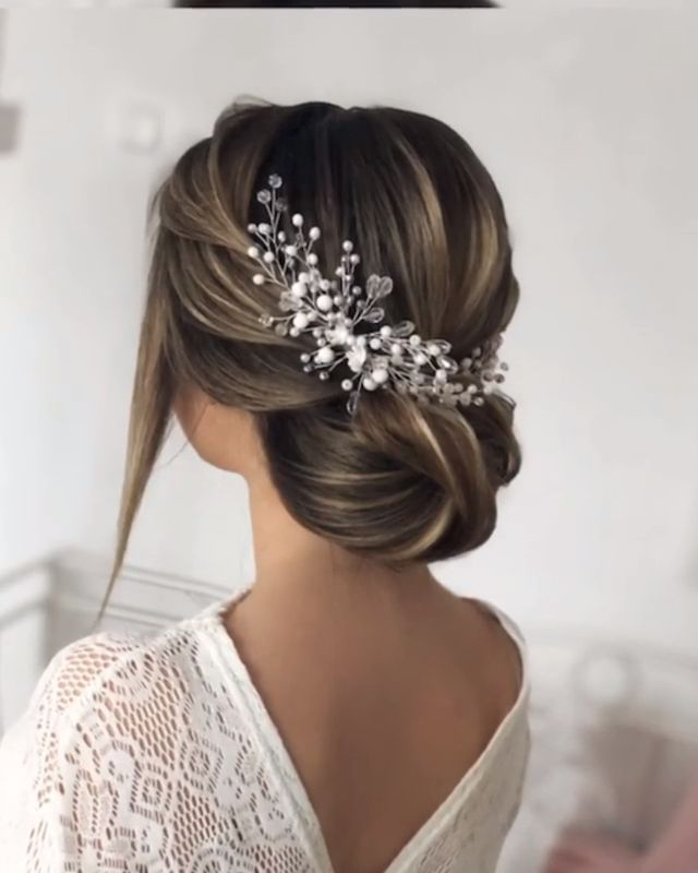 46 Glam Updo Ideas For Long Hair & Tutorials  #elegante #glam #Hair #Ideas #Lon #hairupdotutorial