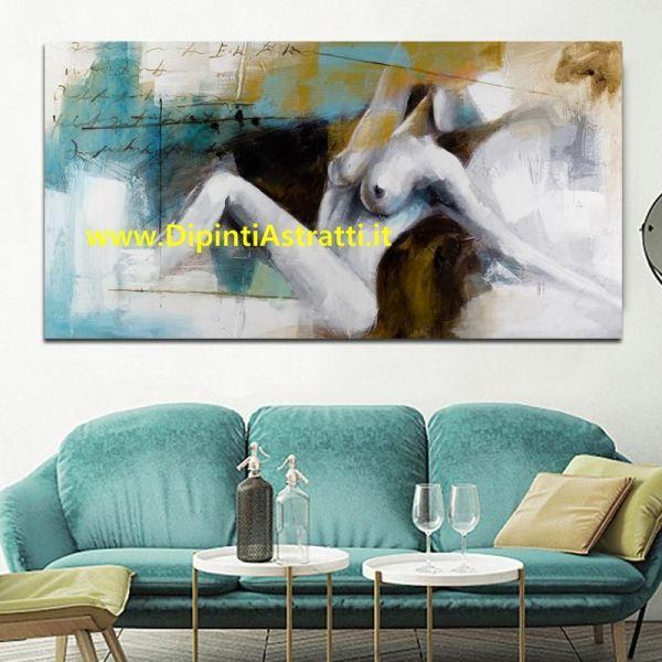 120x90cm Shabby Chic II quadro colori pastello arredamento Quadri moderni 3pz