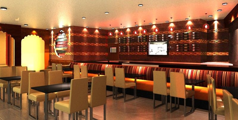 Contemporary Indian Restaurant | Decorating | Pinterest ...