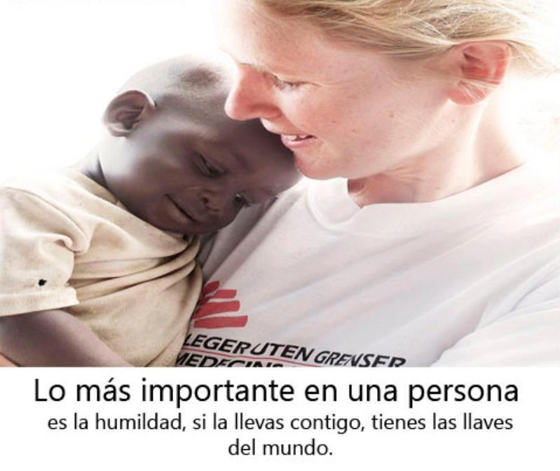 Lo más importante en una persona es la humildad