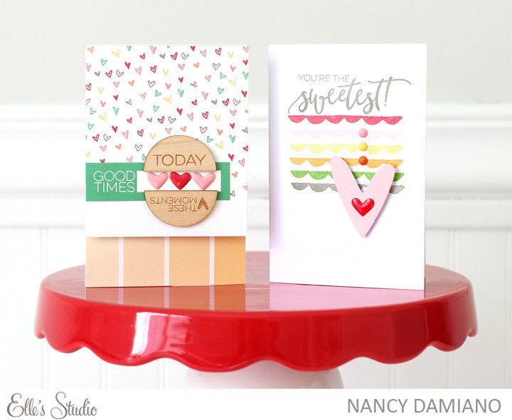 Heart Cards by NancyDamiano at @studio_calico