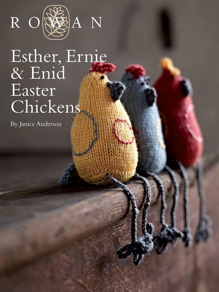 Attractive Free Knitted Chicken Pattern Illustration - Blanket ...