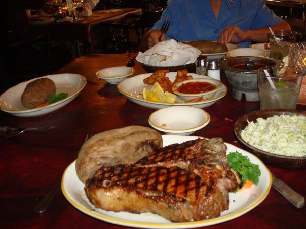Cowboy Steak At Cattlemans Restaurant El Pasohome Pinterest