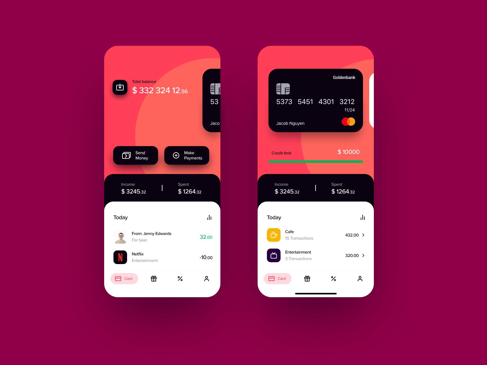 Banking App Banking App Mobile App Design Inspiration App Interface Design