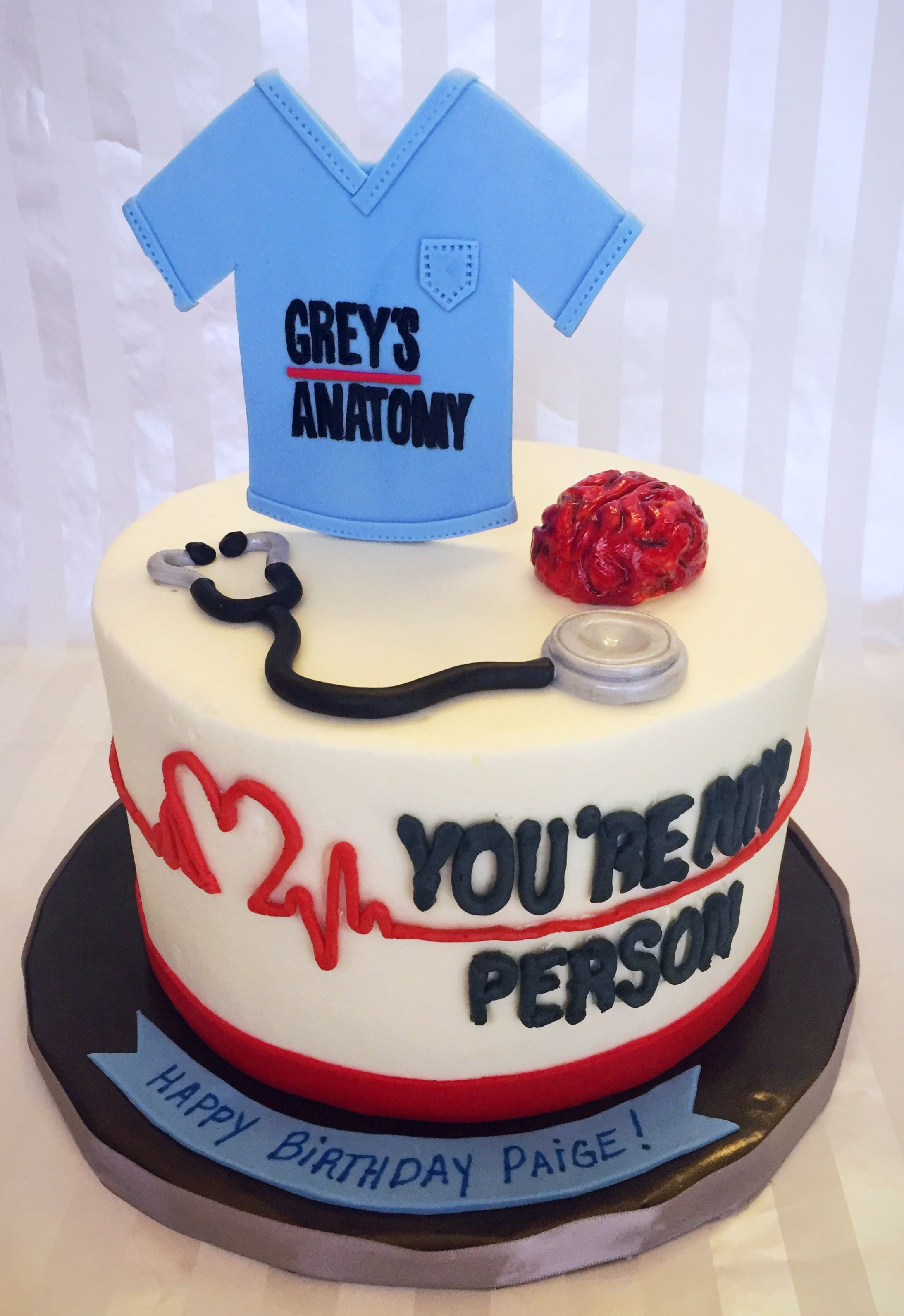 Greys Anatomy Birthday Cake Diy 21st Party Ideas