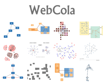WebCola – Javascript Constraint-Based Graph Layout #layout #graph