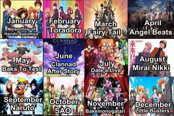 Little busters? My friends got SAO, toradora and fairy tail! That is so not fair!