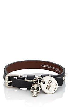 Alexander McQueen Mens Pioneer Wrap Bracelet e1rLa3