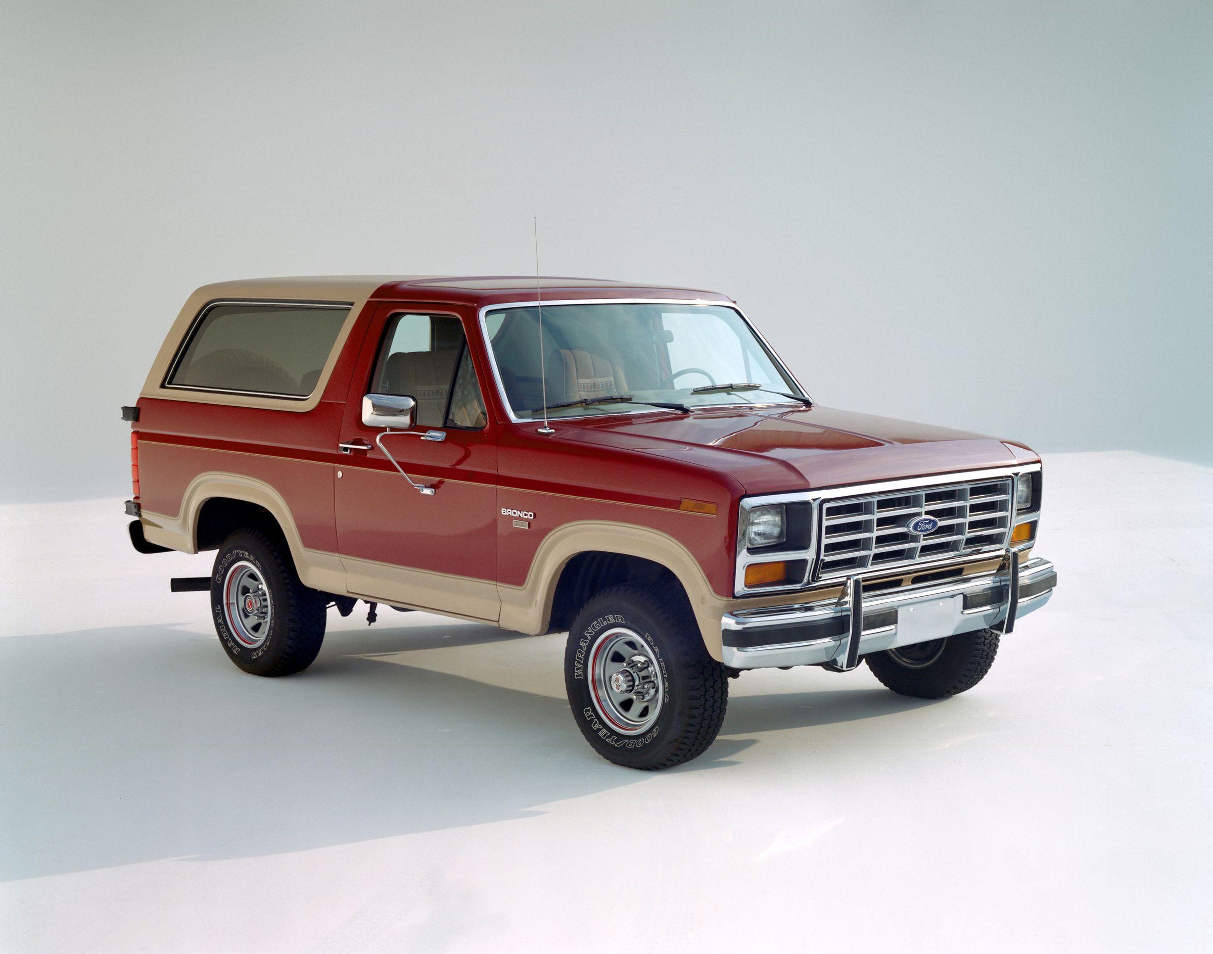1985 Ford Bronco Eddie Bauer Ford Bronco Ford Suv Bronco