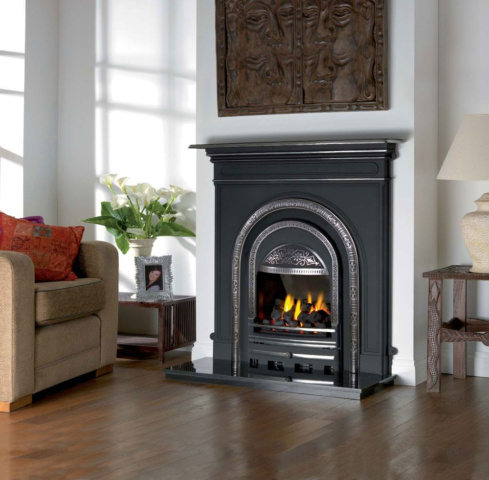 traditional cast full low iron suite polished polish combination fireplaces valentine carron fireplace