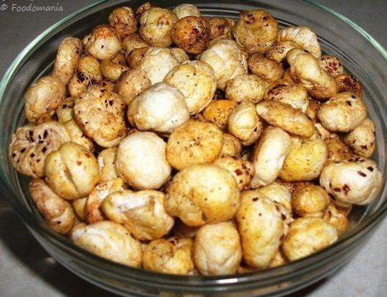Roasted Makhana (Foxnut) ~ a healthy, spicy snack #superhealthy