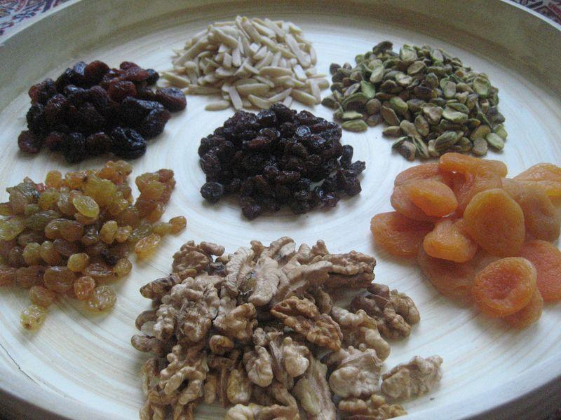 Afghan Fruit Medley Haft Mewa For Nowroz Afghan Food Recipes
