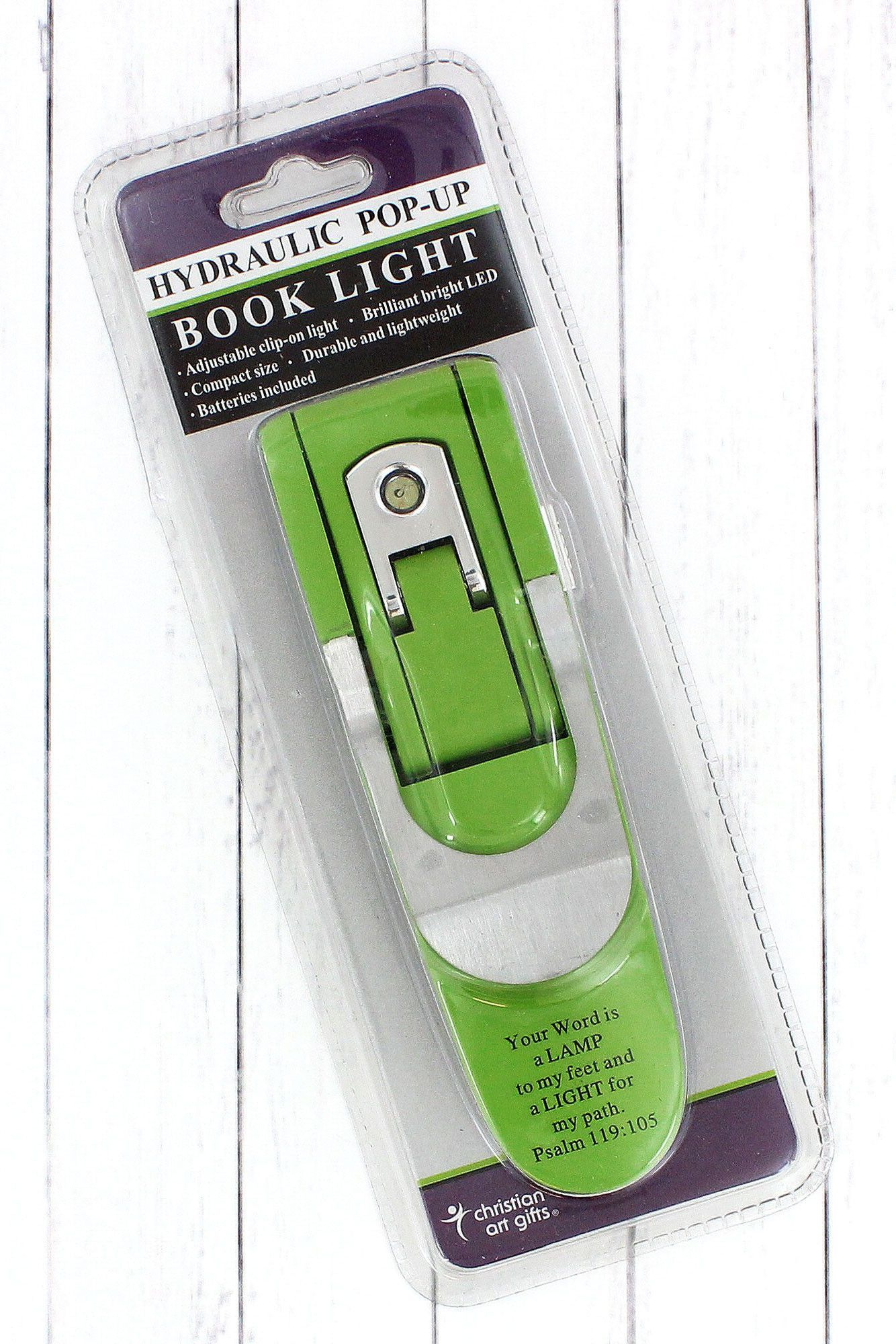 green psalm 119 105 hydraulic pop up book light bkl009 products