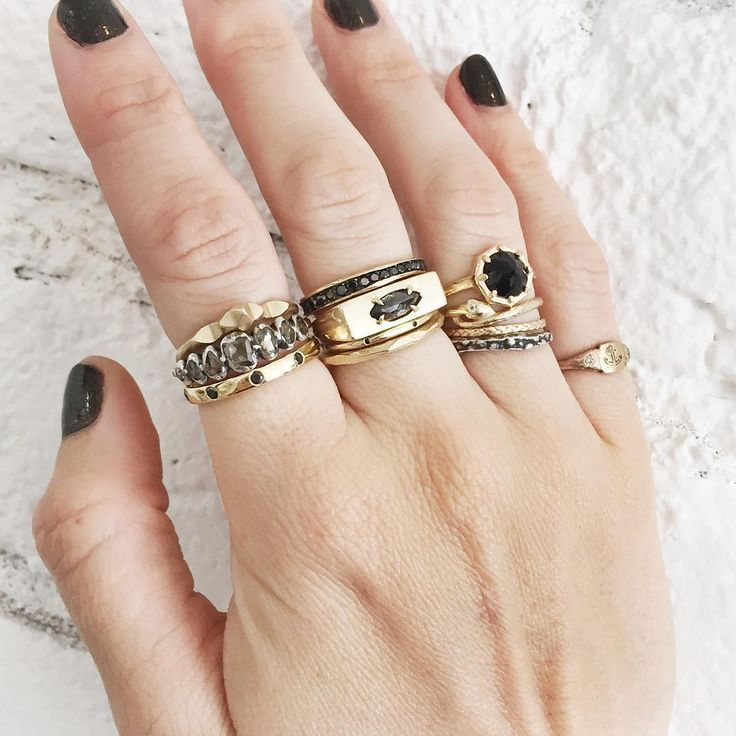 18K Gold Layered Tube Ring Statement Band Wide Ring Geometric Modern Vintage Ring Gift for her Simple Boho Chunky Stack Ring