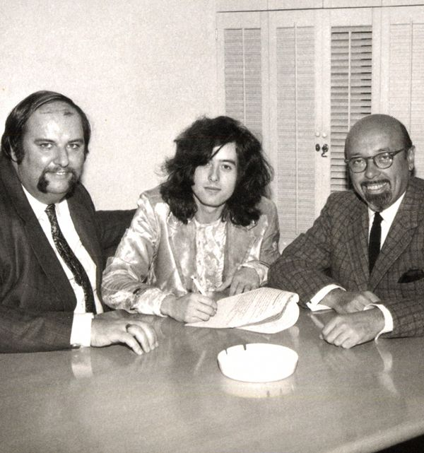 Image result for Ahmet Ertegun photos with Led Zeppelin Peter Grant Jimmy Page Robert Plant